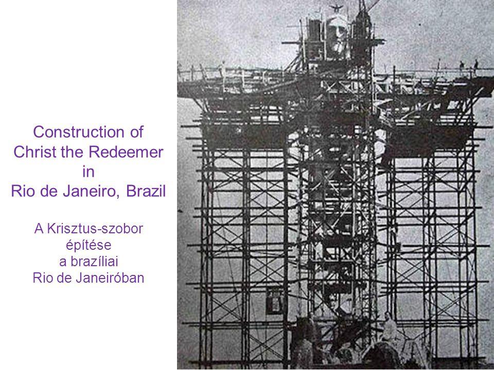 építése a brazíliai Rio de Janeiróban