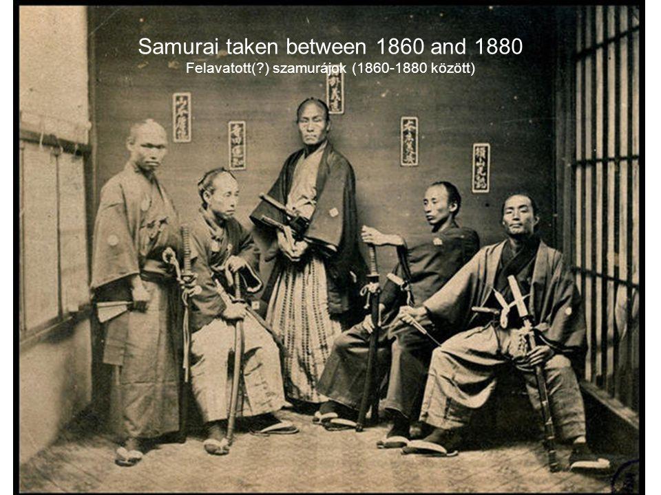 Samurai taken between 1860 and 1880 Felavatott(