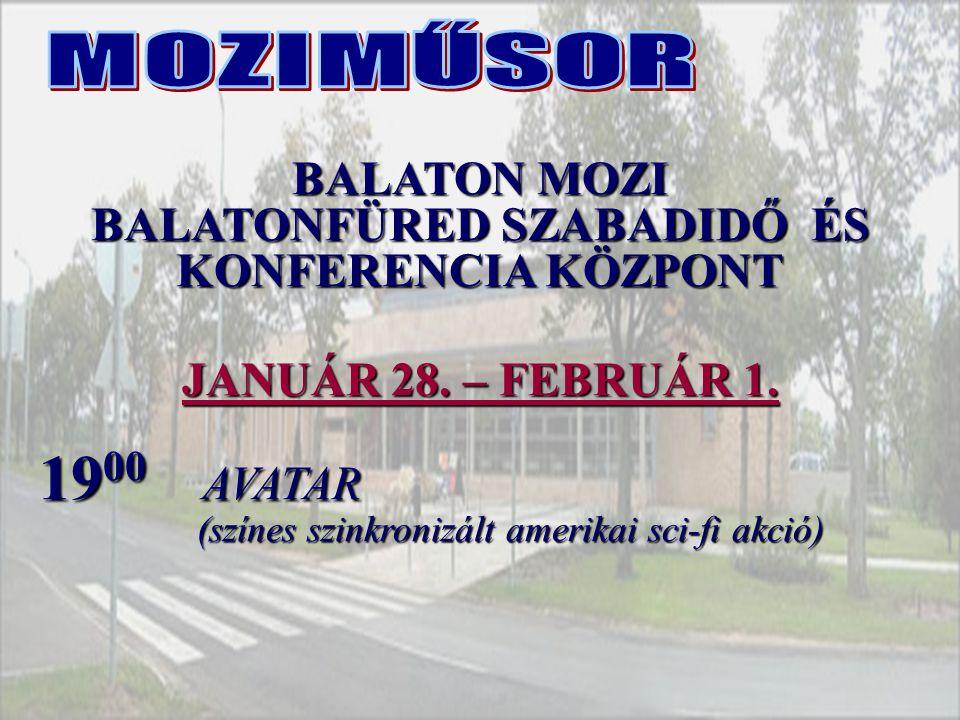BALATONFÜRED SZABADIDŐ ÉS KONFERENCIA KÖZPONT