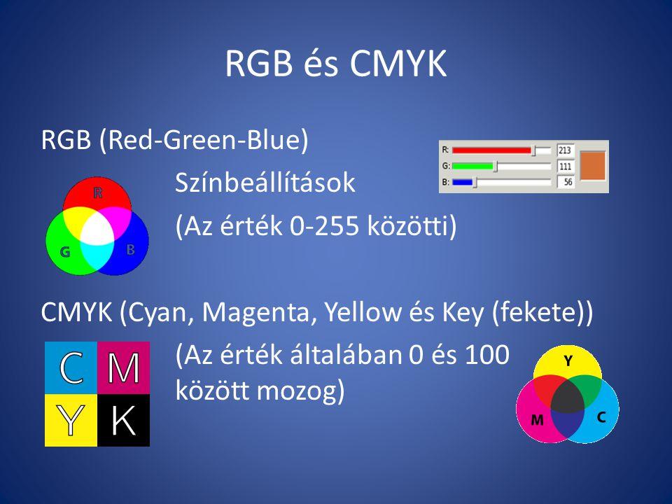 RGB és CMYK