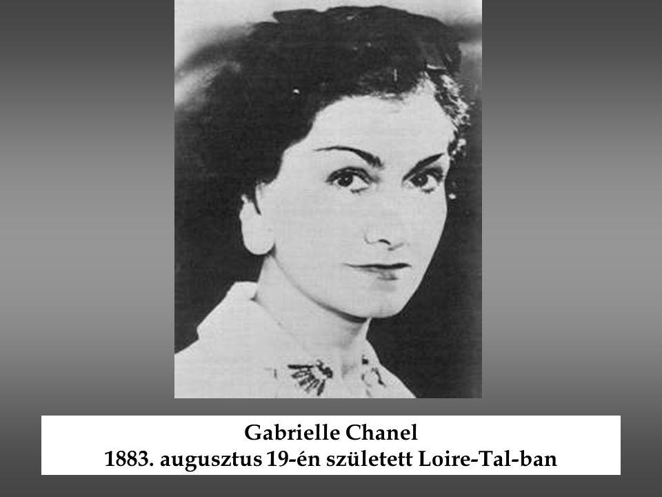 1883. augusztus 19-én született Loire-Tal-ban