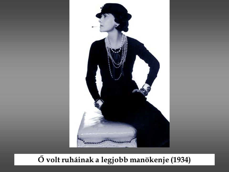 Ő volt ruháinak a legjobb manökenje (1934)