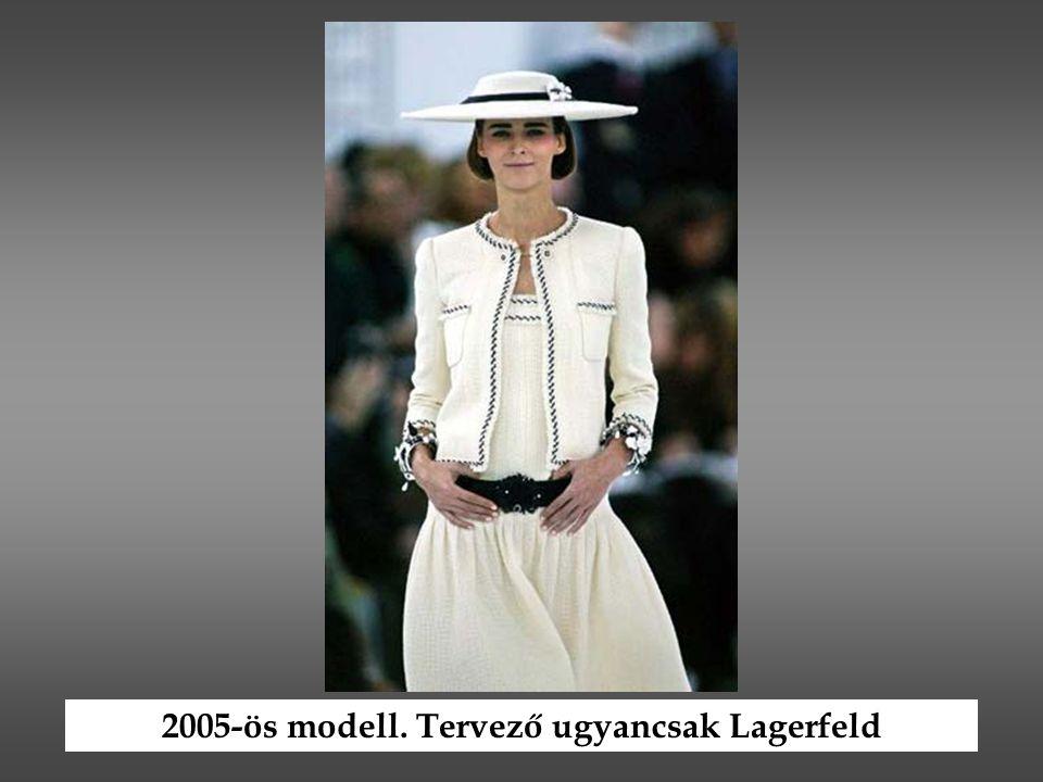 2005-ös modell. Tervező ugyancsak Lagerfeld