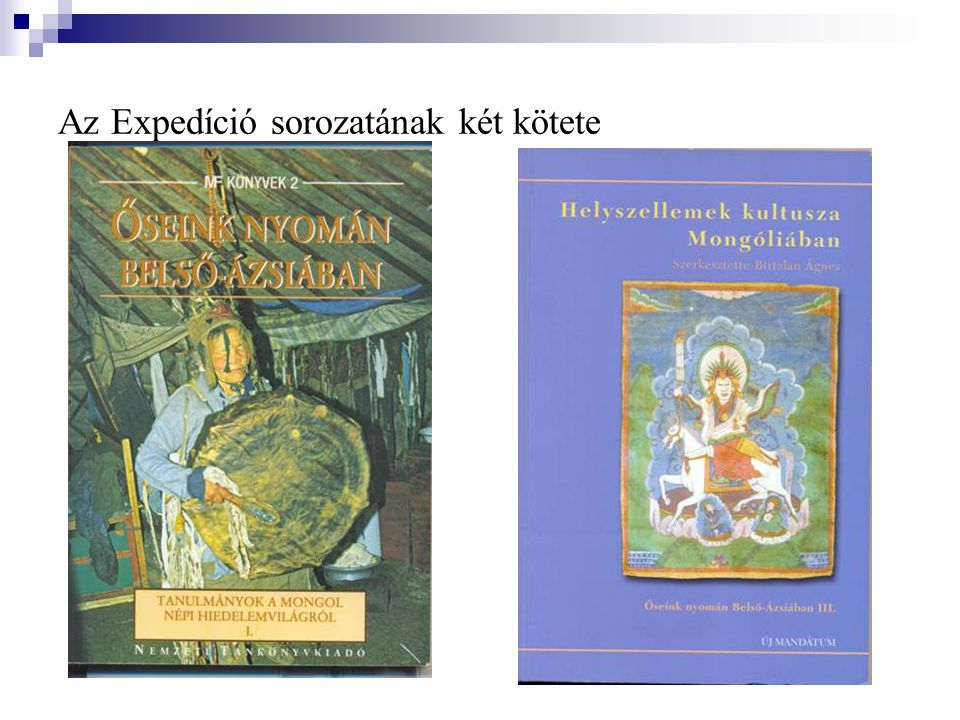 Az Expedíció sorozatának két kötete