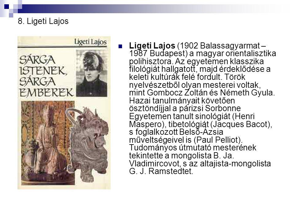 8. Ligeti Lajos