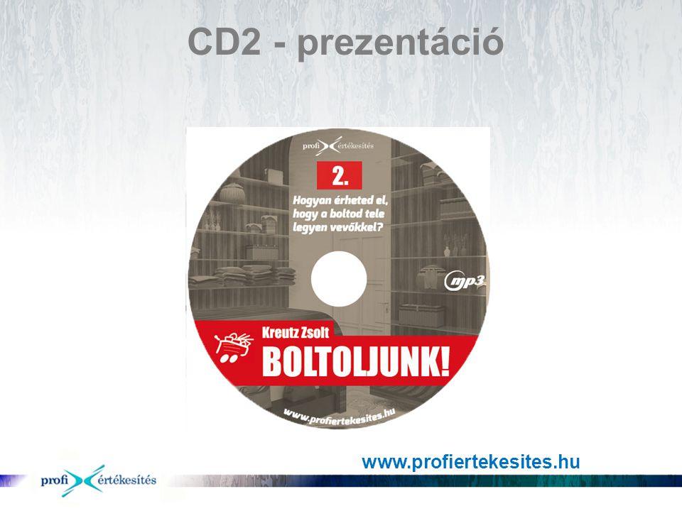 CD2 - prezentáció www.profiertekesites.hu