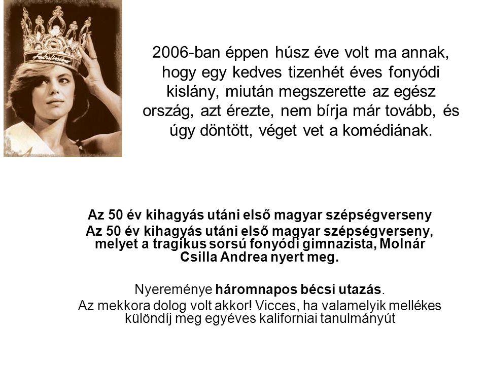 Az 50 év kihagyás utáni első magyar szépségverseny