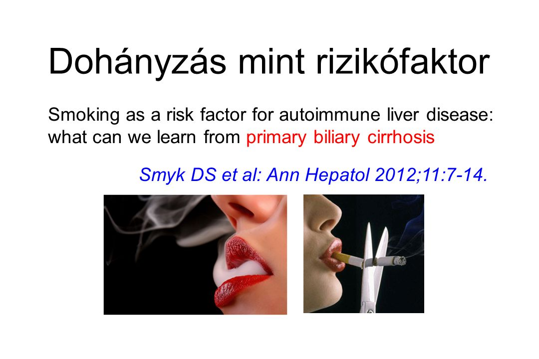 Dohányzás mint rizikófaktor