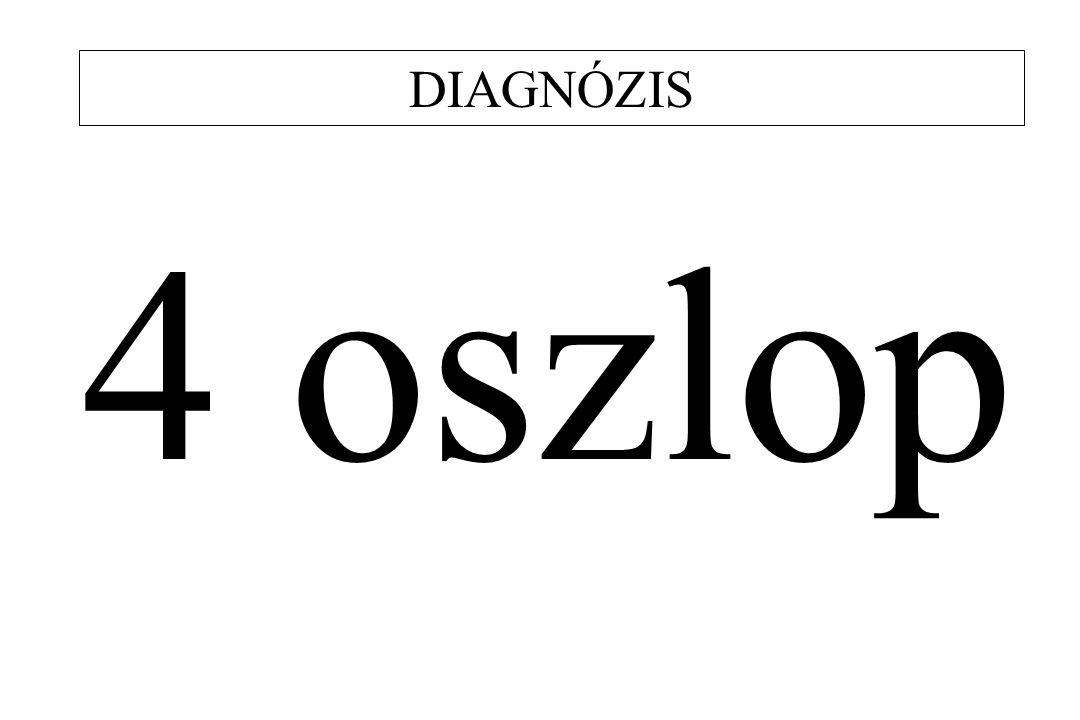 DIAGNÓZIS 4 oszlop