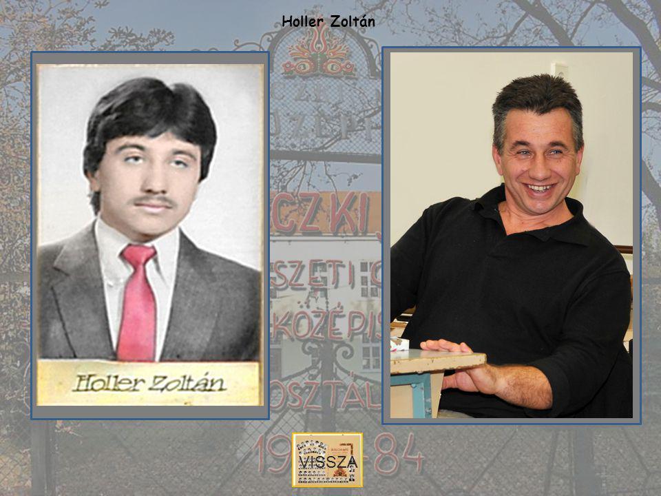 Holler Zoltán VISSZA