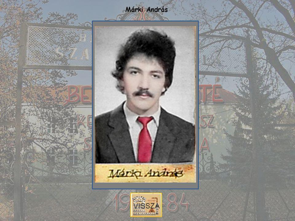 Márki András VISSZA
