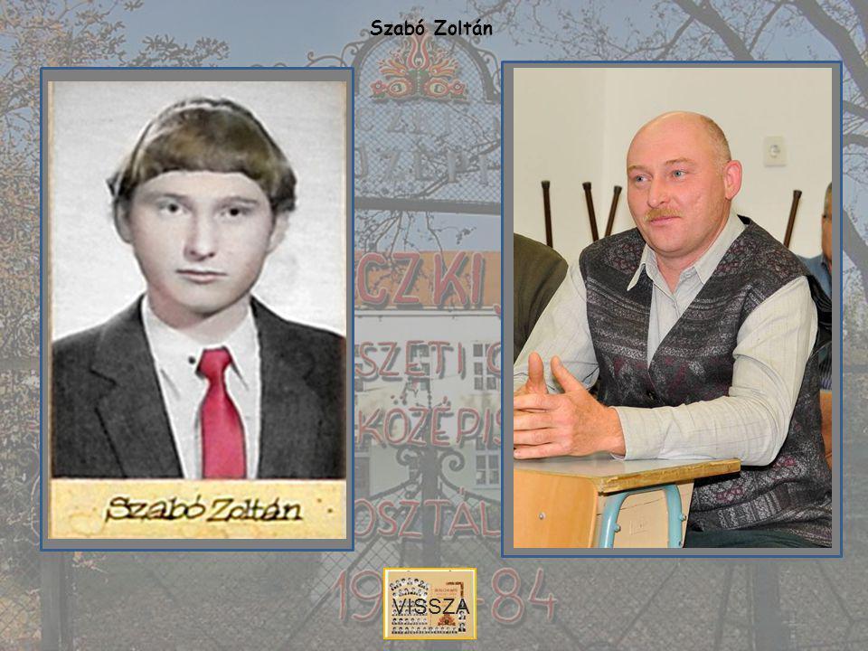 Szabó Zoltán VISSZA