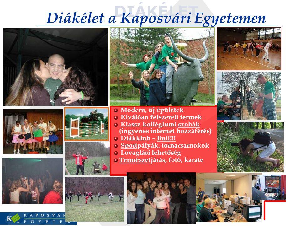Diákélet a Kaposvári Egyetemen
