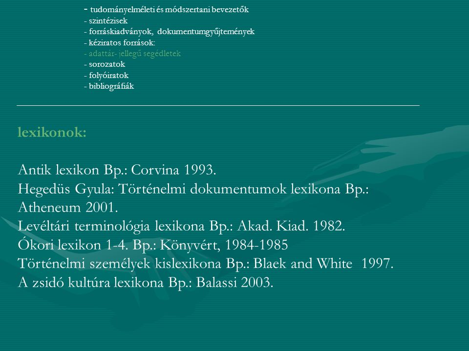 Antik lexikon Bp.: Corvina 1993.