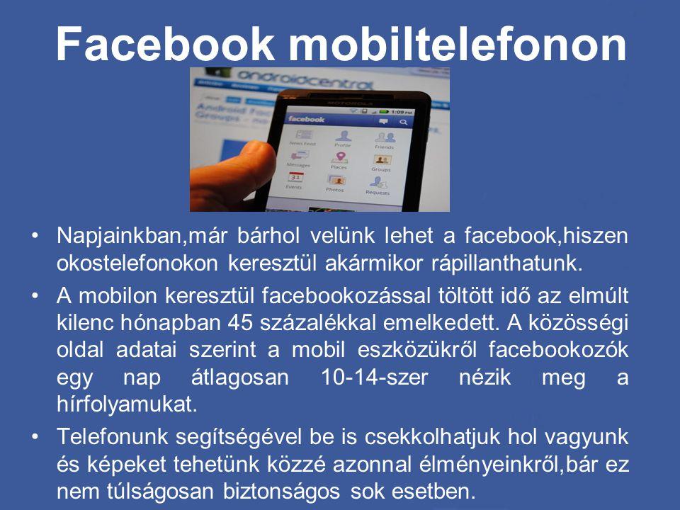 Facebook mobiltelefonon