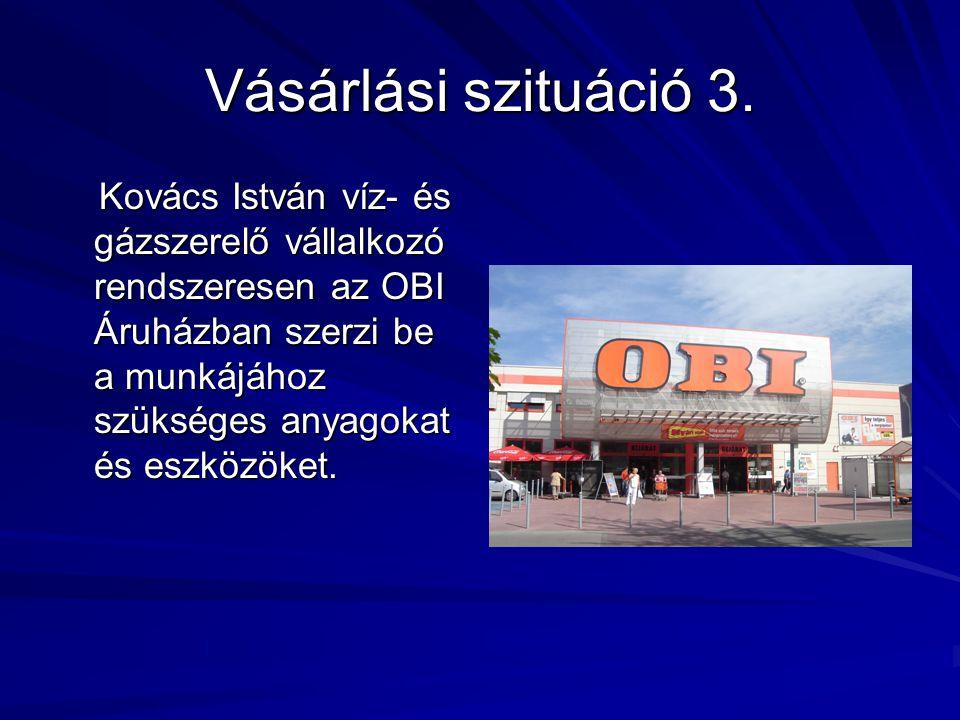 Vásárlási szituáció 3.