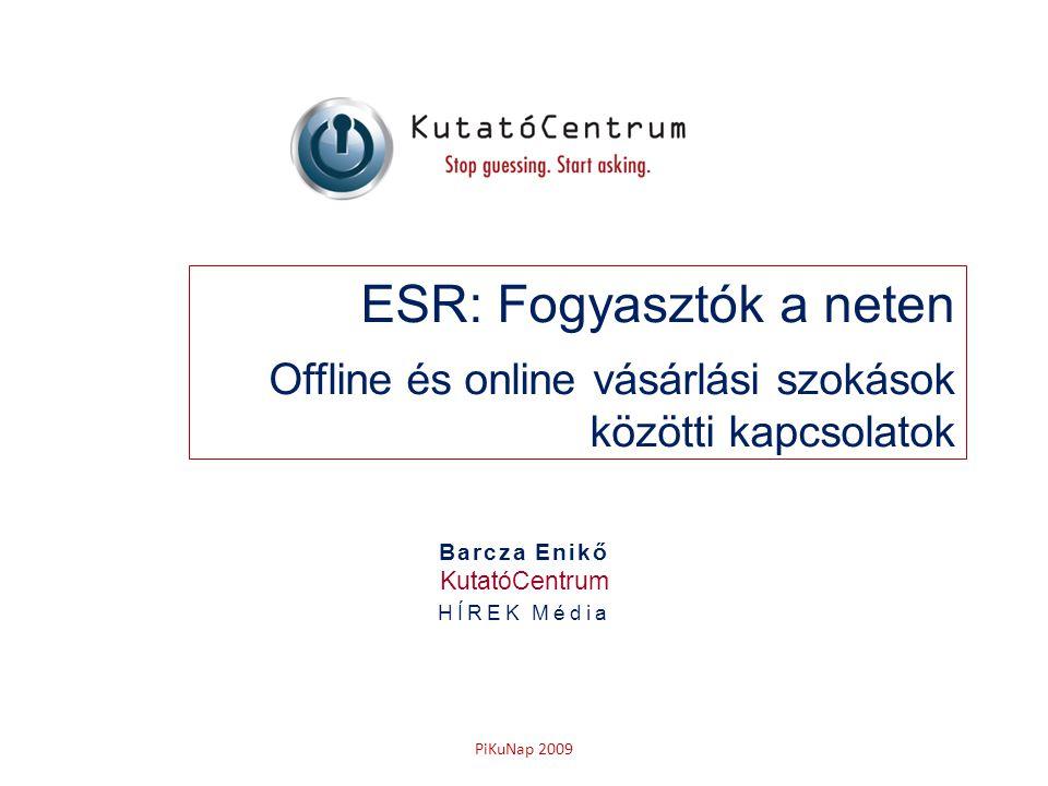 ESR: Fogyasztók a neten