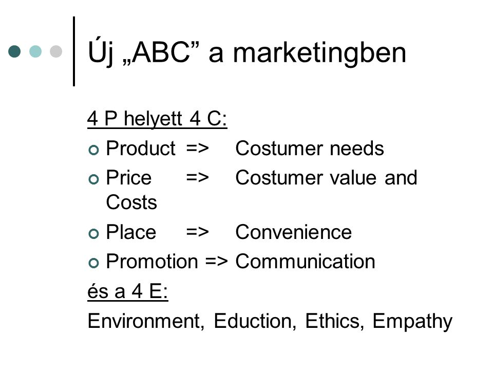 "Új ""ABC a marketingben"