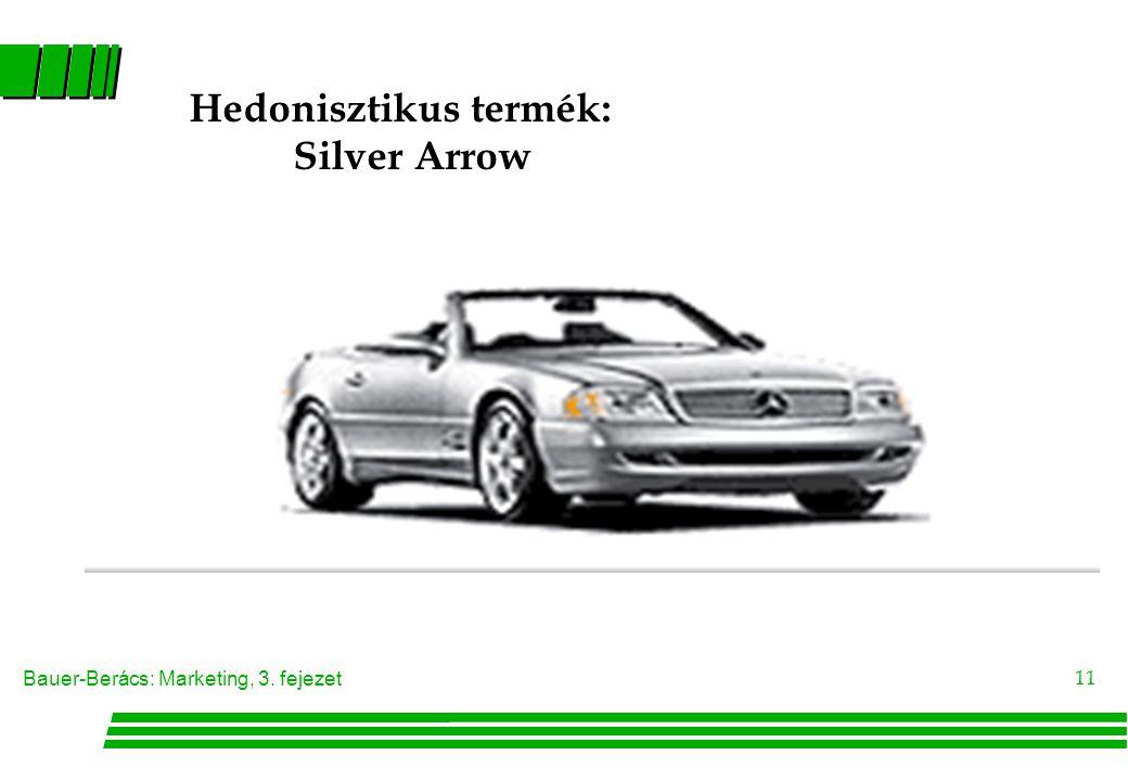 Hedonisztikus termék: Silver Arrow