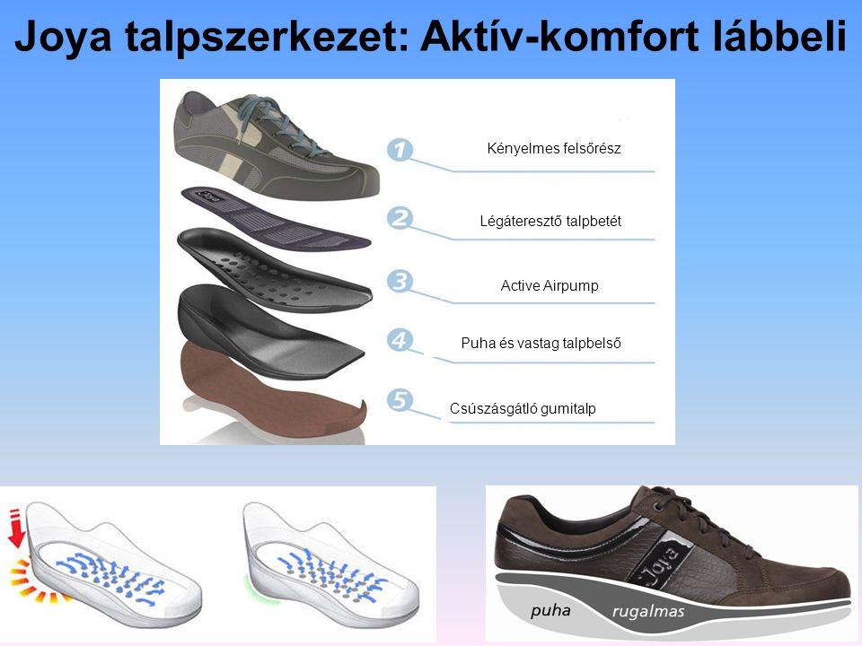 Joya talpszerkezet: Aktív-komfort lábbeli