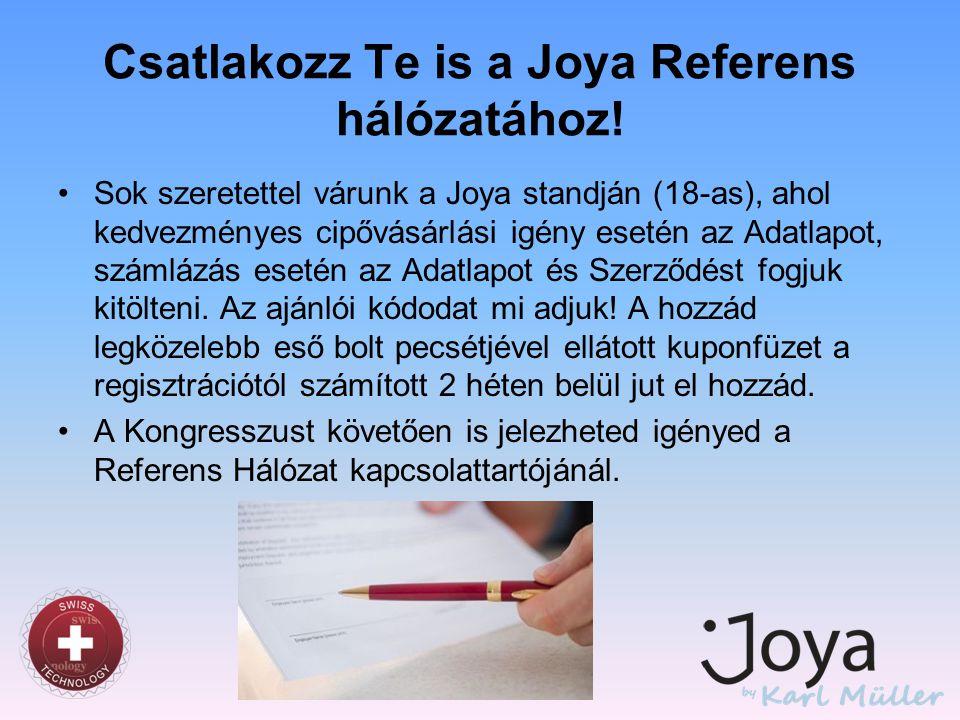 Csatlakozz Te is a Joya Referens hálózatához!
