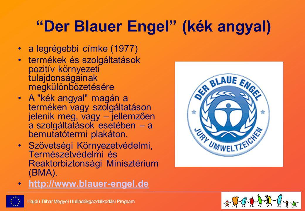 Der Blauer Engel (kék angyal)