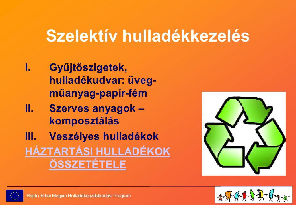 Szelektív hulladékkezelés