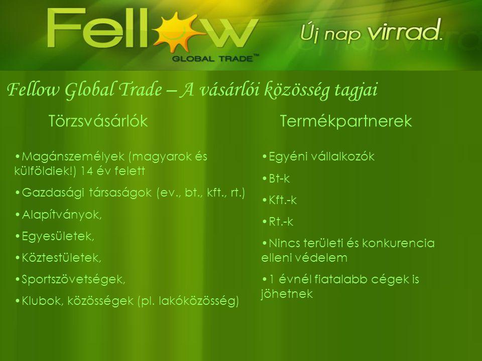 Fellow Global Trade – A vásárlói közösség tagjai