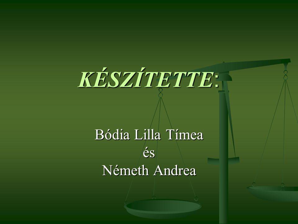 Bódia Lilla Tímea és Németh Andrea