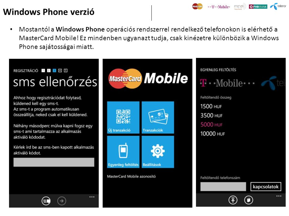 Windows Phone verzió