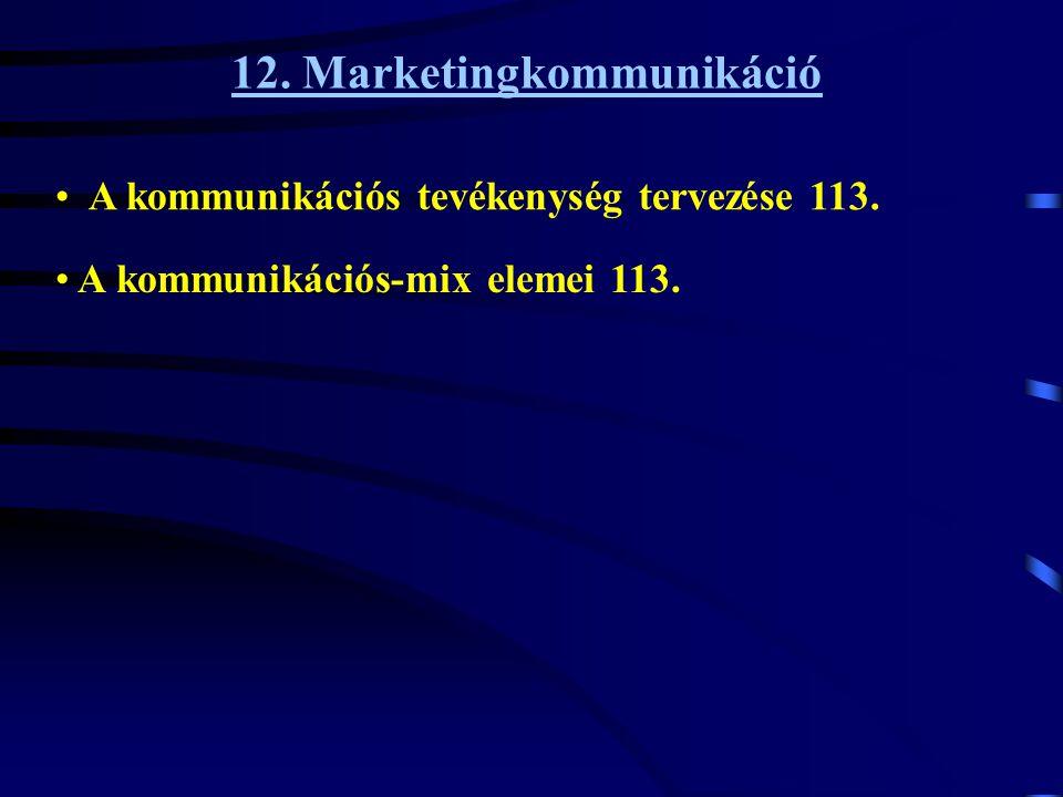 12. Marketingkommunikáció