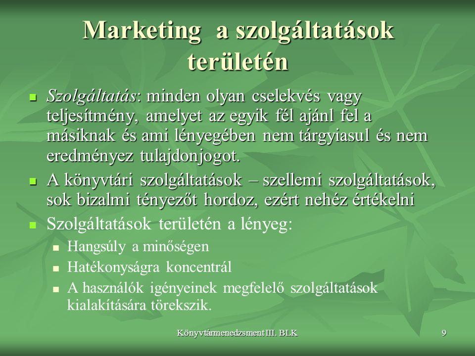 Marketing a szolgáltatások területén