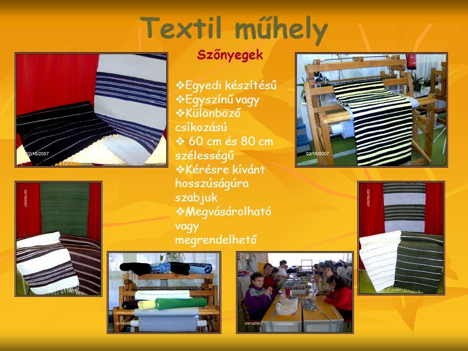 Textil műhely Szőnyegek Egyedi készítésű Egyszínű vagy