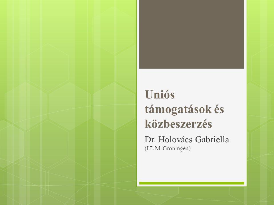 Uniós támogatások és közbeszerzés