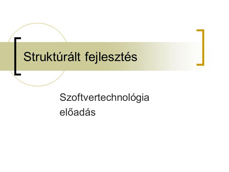 Struktúrált fejlesztés