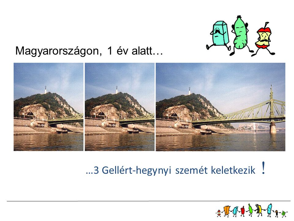 Magyarországon, 1 év alatt…