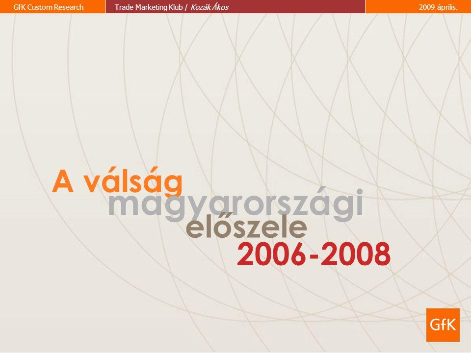 A válság magyarországi előszele 2006-2008