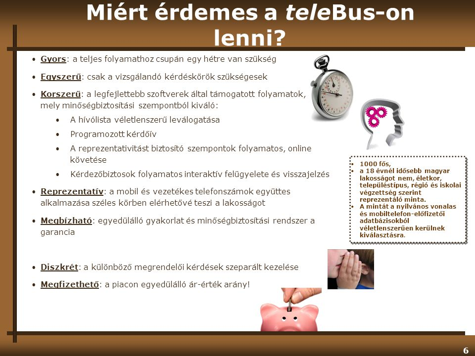 Miért érdemes a teleBus-on lenni