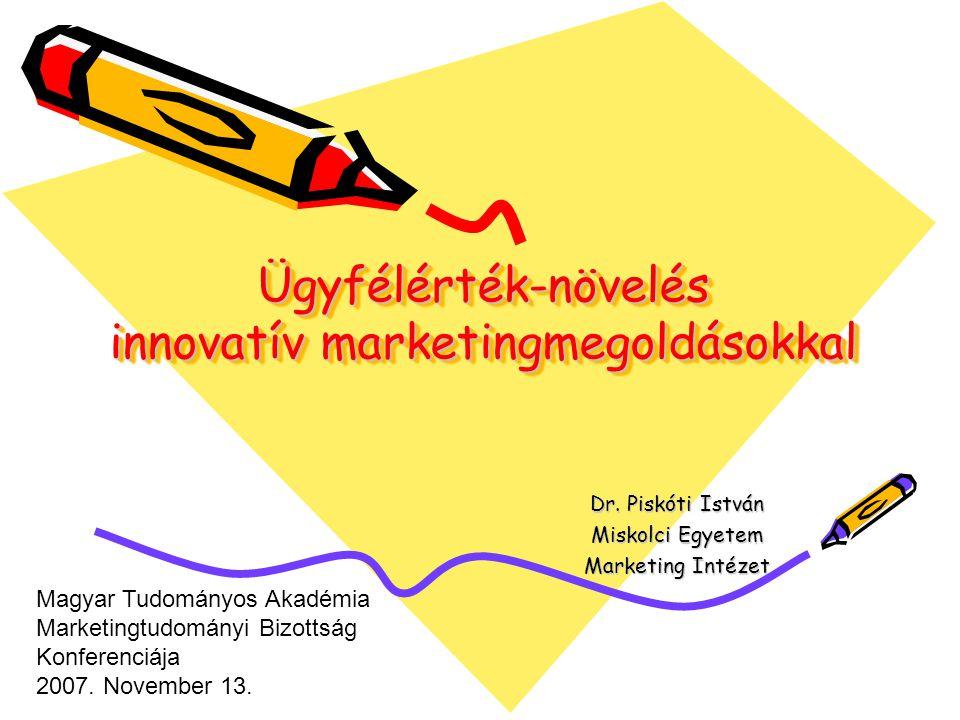Ügyfélérték-növelés innovatív marketingmegoldásokkal