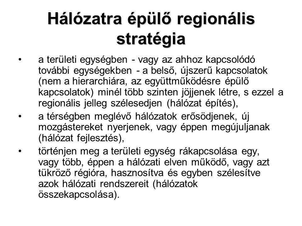 Hálózatra épülő regionális stratégia