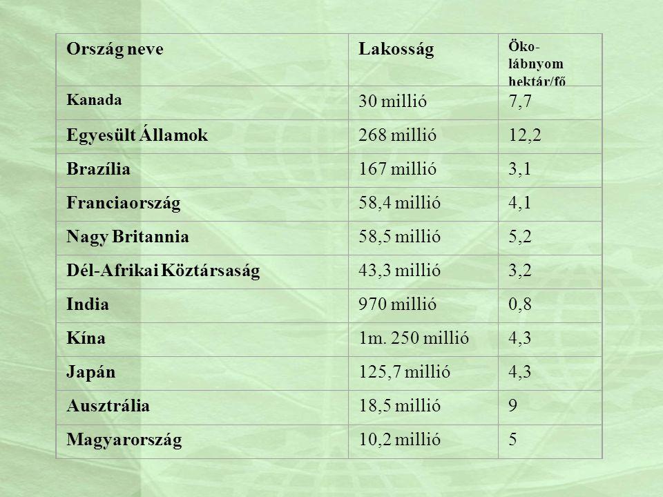 Dél-Afrikai Köztársaság 43,3 millió 3,2