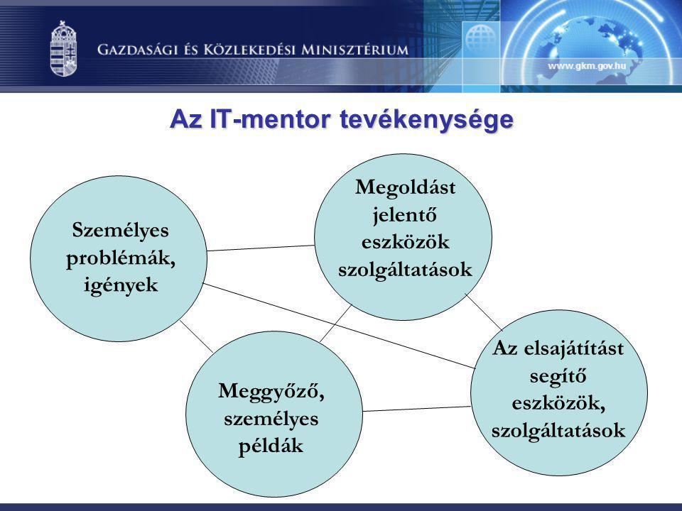 Az IT-mentor tevékenysége
