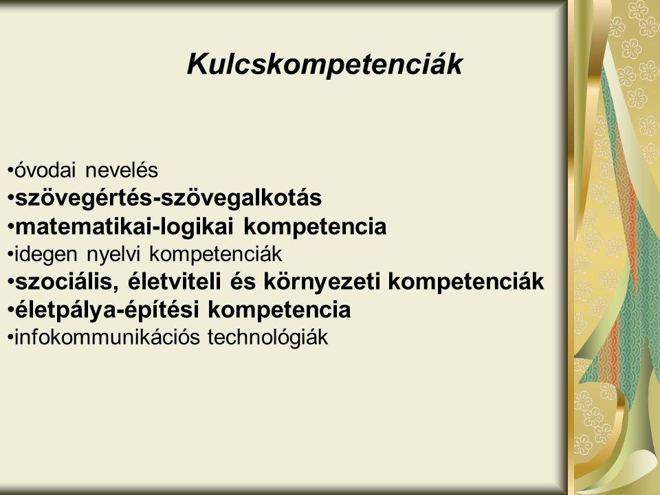 Kulcskompetenciák szövegértés-szövegalkotás