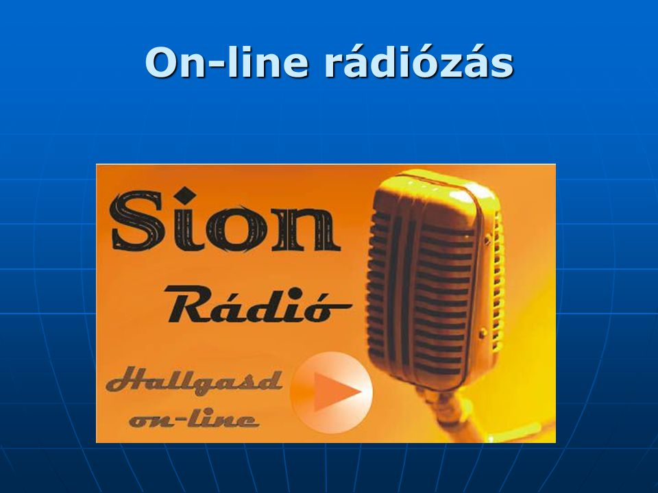 On-line rádiózás