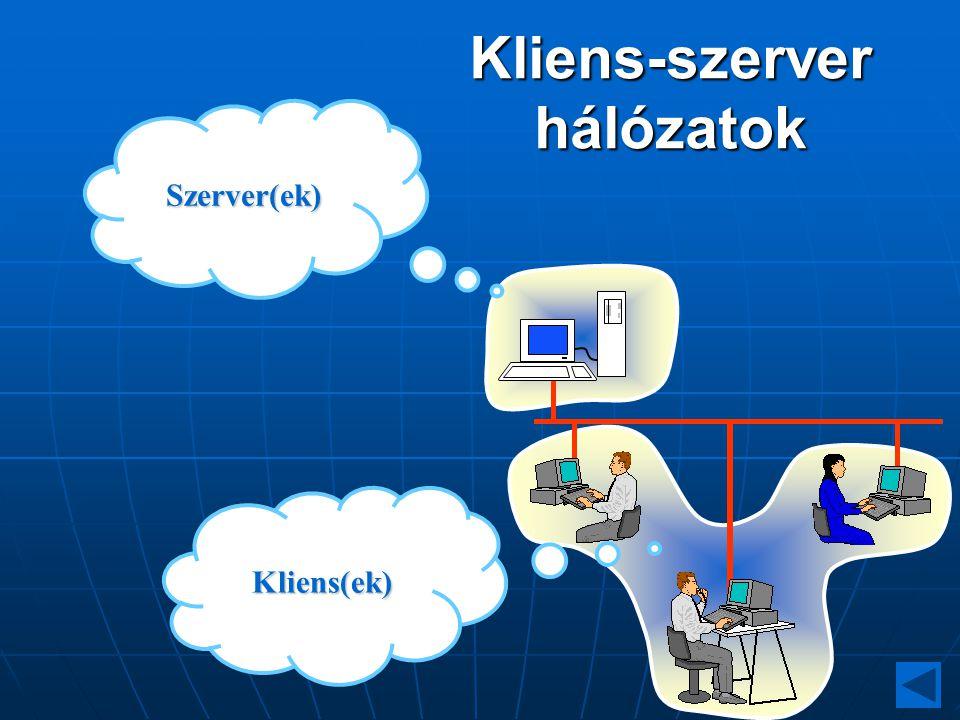 Kliens-szerver hálózatok