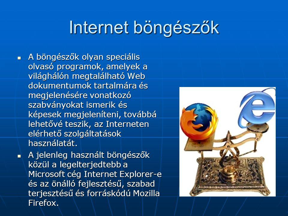 Internet böngészők