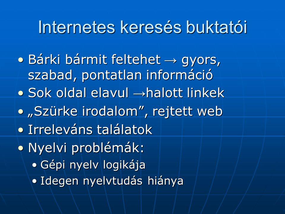 Internetes keresés buktatói