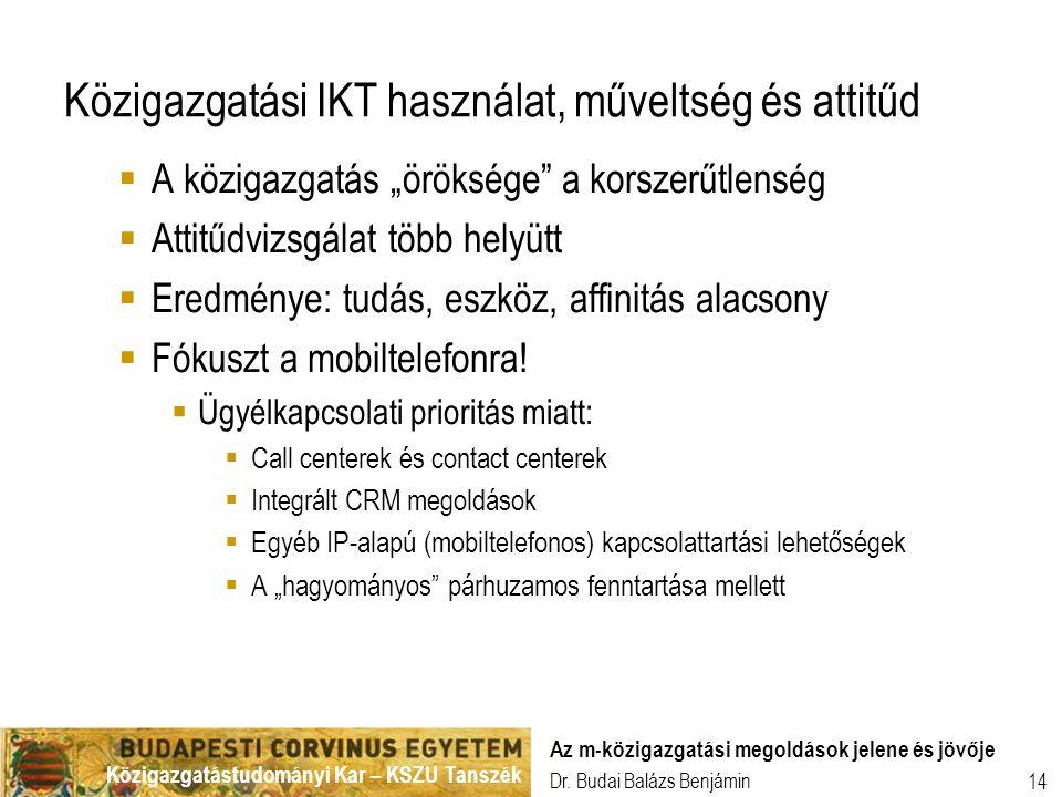 Közigazgatási IKT használat, műveltség és attitűd