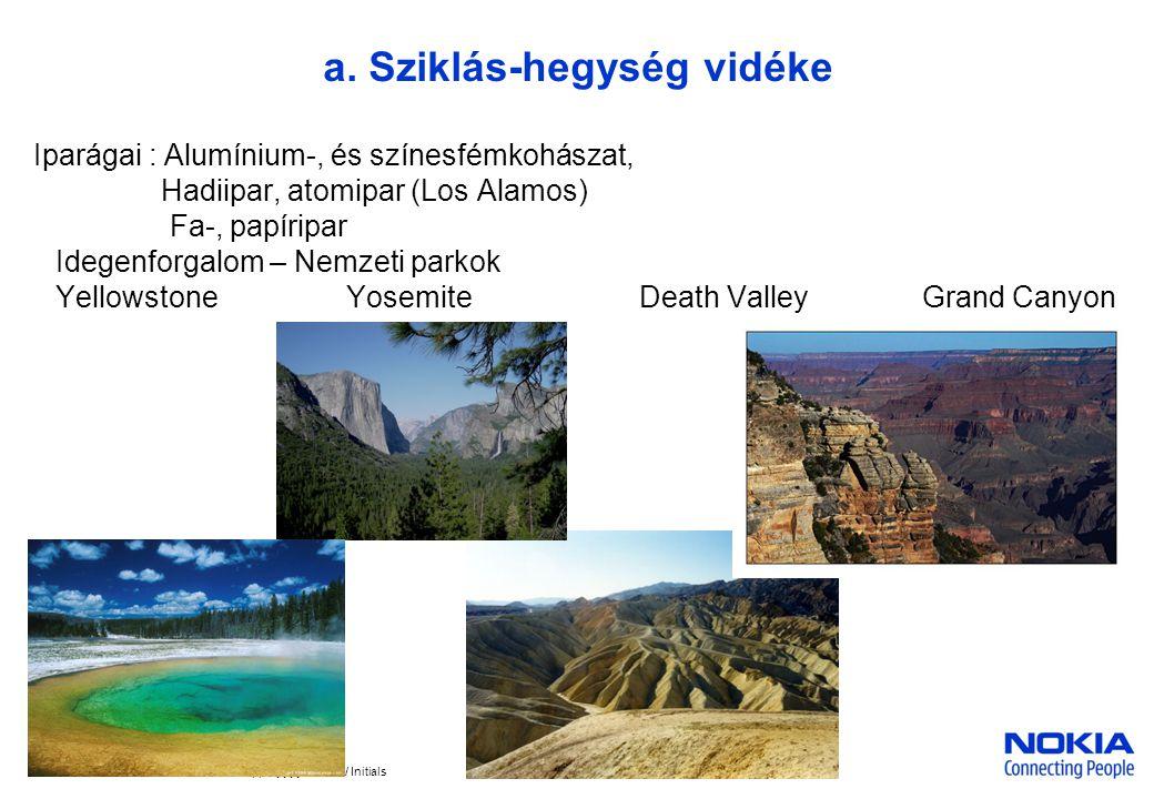 a. Sziklás-hegység vidéke