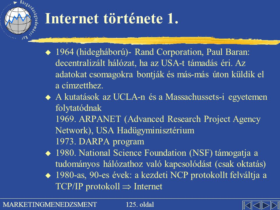 Internet története 1.